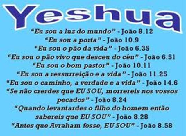 Eu sou YESHUA