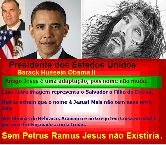 Amigo Jesus é uma adaptação, pois nome não muda